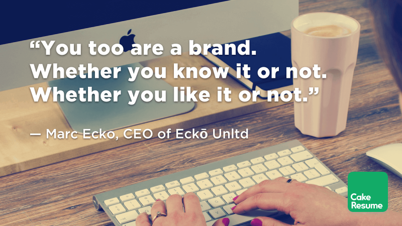 """You too are a brand. Whether you know it or not. Whether you like it or not."" — Marc Ecko, CEO of Eckō Unltd"