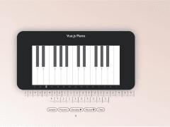 vue.js 互動式鋼琴