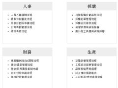 建置開發各項BPM流程