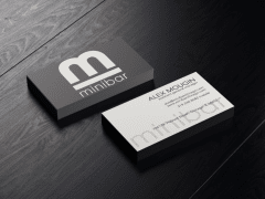 Business Cards for Chicago Night Club