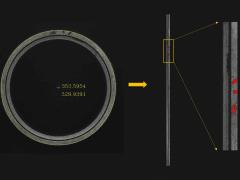 自動化軸承瑕疵檢測系統 - 端面檢測