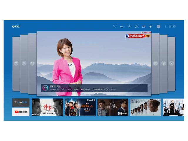 UI design - TV OS
