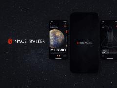 【UI Design/ Branding】Space Walker