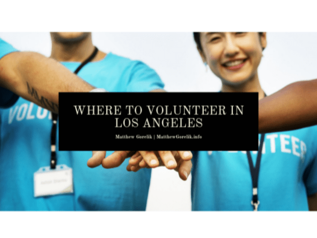 Where to Volunteer in Los Angeles