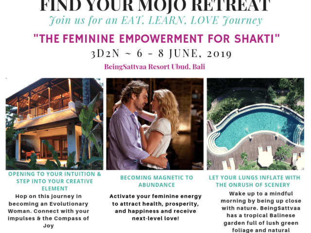 Find Your Mojo Women's Empowerment Retreat