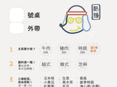 Menu Design:Cool Noodle.
