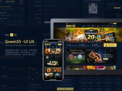 GoWin55 - 桌面版及手機版 UI UX Design