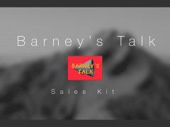 Barney's Talk Podcast Sales Kit