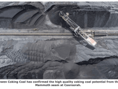 Bowen confirms high quality coking coal potential