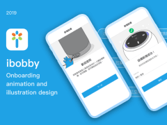 ibobby App Onboarding Pages