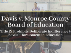 Davis v. Monroe County Board of Education: Title I