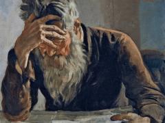 Neil Haboush share Fathers Pain on Saatchiart