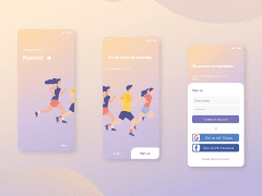 UI DESIGN | Sign Up page