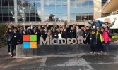 Microsoft work environment photo