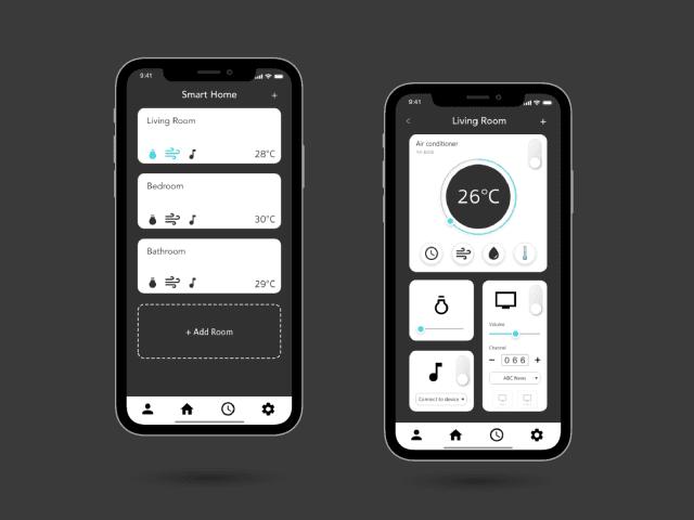 UI DESIGN | Smart Home