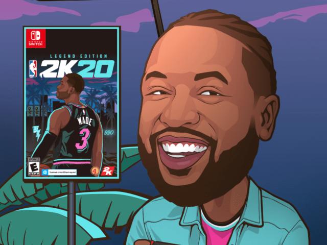 NBA2K20 Wade封面