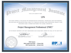 Project Management Professional PMP® 專案管理師國際認證