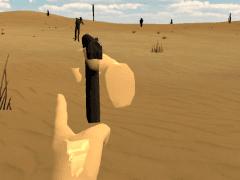 大學實習作品:埃及歷險(VR射擊遊戲)