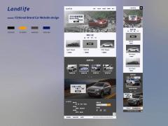 RWD 網頁作品 | 汽車品牌形象網站