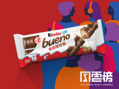 Kinder bueno - Event website & visual design