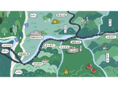 地圖設計【泰安溫泉風景區】 / map design