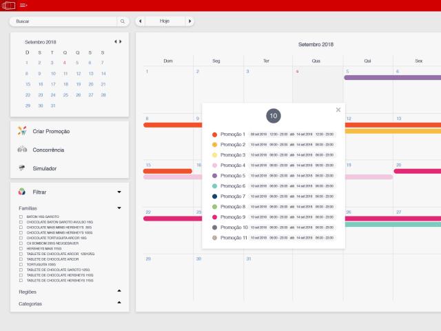 Item Calendar System