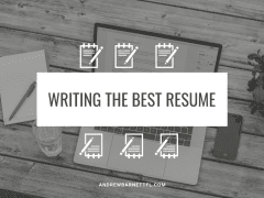 Writing the Best Resume