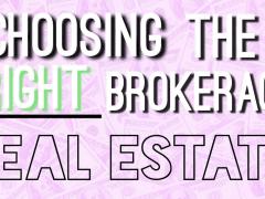 Ways to choose an Real Estate Broker – Lina Franco