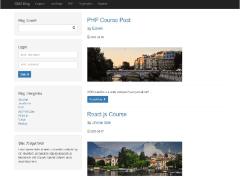 PHP CMS_Blog