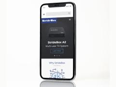 介面設計 - Website StrideBox
