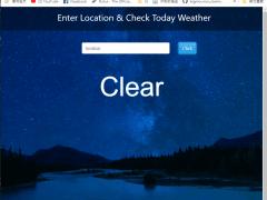 地區天氣查詢