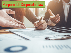 What Is The Purpose Of Corporate Law?