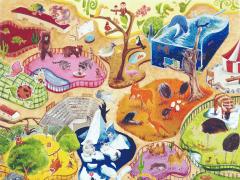 動物園插畫