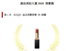 最佳美妝大賞2020 唇膏篇