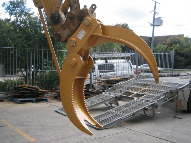 Hire Excavator Grab - Boss Attachments
