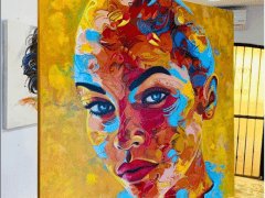 Neil Haboush share Women ArtAbstract on Saatchiart