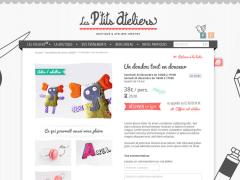 Site internet Les p'tits ateliers