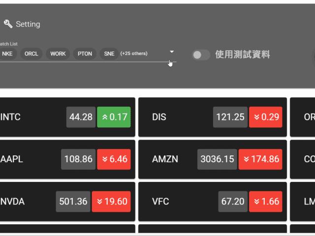 Stock Demo