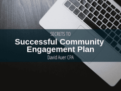 David Auer CPA | Successful Community Engagement