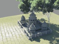 [平面]城堡建模