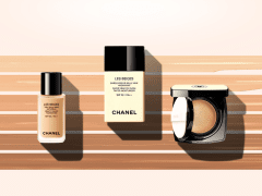 CHANEL LES BEIGES - Event website & visual desig