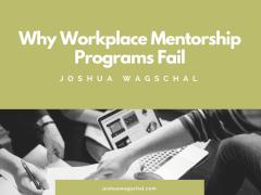 Why Workplace Mentorship Programs Fail