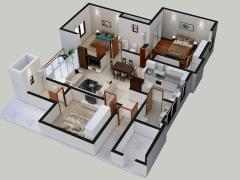 Floor Plan 3D Design