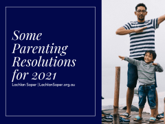 Some Parenting Resolutions for 2021