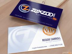 Corporate Brand Identity & Business Card Design