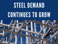 Steel Demand Continues to Grow
