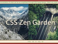 網頁切版 | CSS Zen Garden