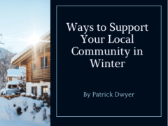Ways to Support Your Local Community in Winter