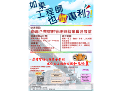 學校智財學程宣傳海報-工學版本