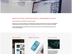 onPressed Inc. Wep Page Design